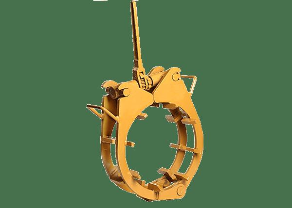 External ratchet clamp