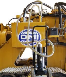 DMI International Pipe Bending Machine fluid analysis for depletion and degradation of hydraulic oil additives